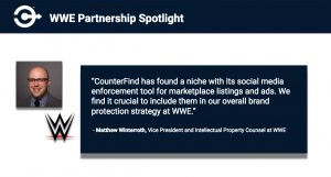 How WWE is Fighting Online Counterfeit With CounterFind